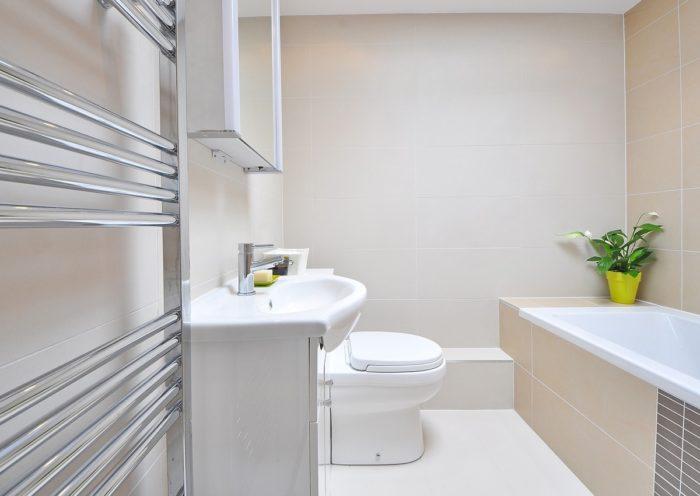 Epoxyvloer badkamer
