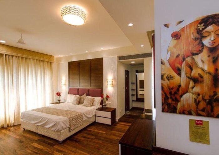 Steigerhout slaapkamer