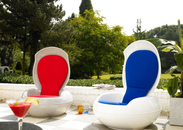 tuin lenteproef nieuwe meubels