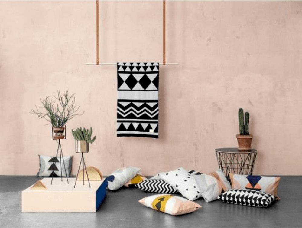 Scandinavische sferen in eigen huis