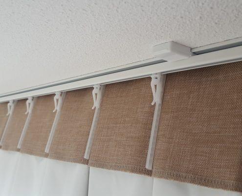 gordijnen ophangen rail