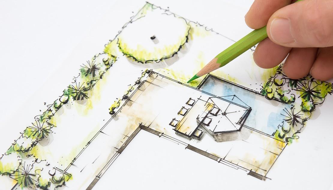 verlichtingsplan tuin