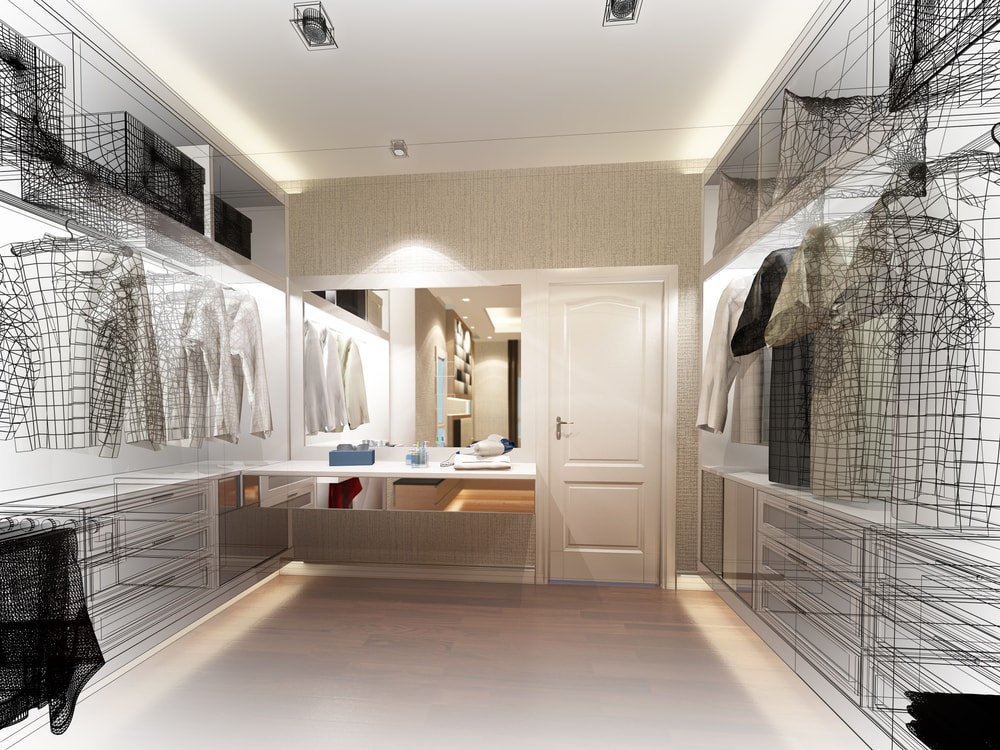 Zo maak je optimaal gebruik van de ruimte in jouw garderobekast!