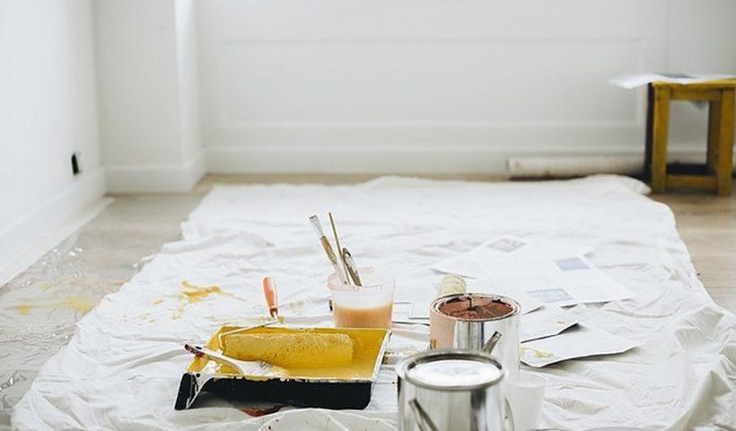 Met de nieuwste soort binnen verf is je woning zo geschilderd