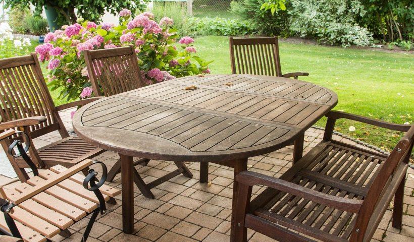 3 tips voor het onderhoud van houten tuinmeubelen